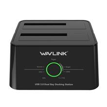 Wavlink WL-ST334U USB3.0 2-Bay External Hard Drive Dock